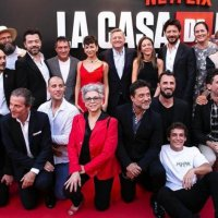 La casa de papel: Η λαμπερή επίσημη πρεμιέρα της σειράς