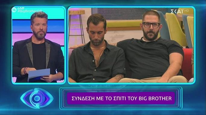 Αποχώρησε από το σπίτι του Big Brother ο Νικόλας Παπαπαύλου