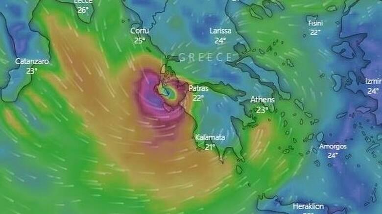 ΕΚΤΑΚΤΟ Κυκλώνας Ιανός: Σε Αττική, Κορινθία και Αργολίδα το επόμενο «χτύπημα»