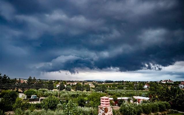 Έκτακτο Καιρός: Δυνατές βροχές και καταιγίδες – Ποιες περιοχές επηρεάζονται