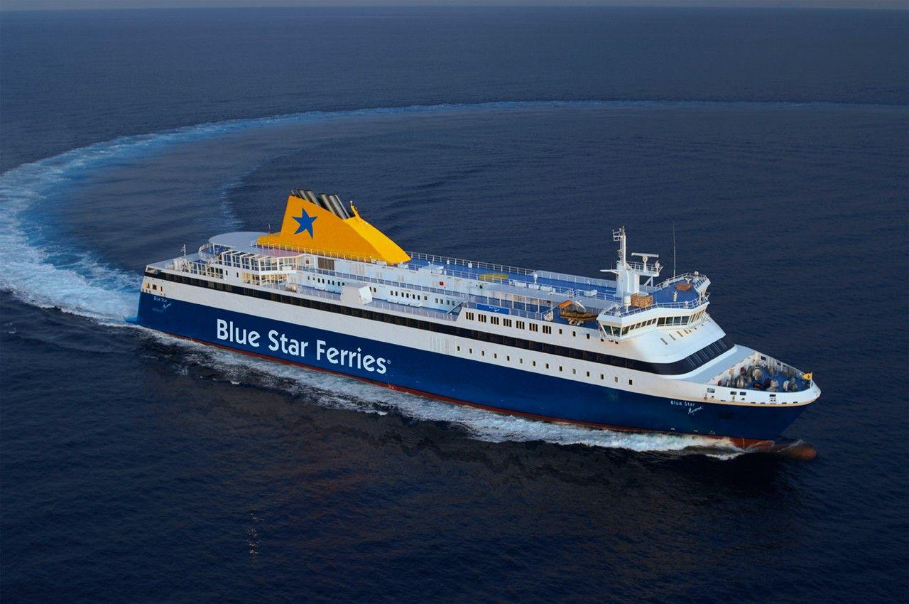 Κρούσμα κορονοϊού στο Blue Star Delos – Επιστρέφει στον Πειραιά από την Σαντορίνη