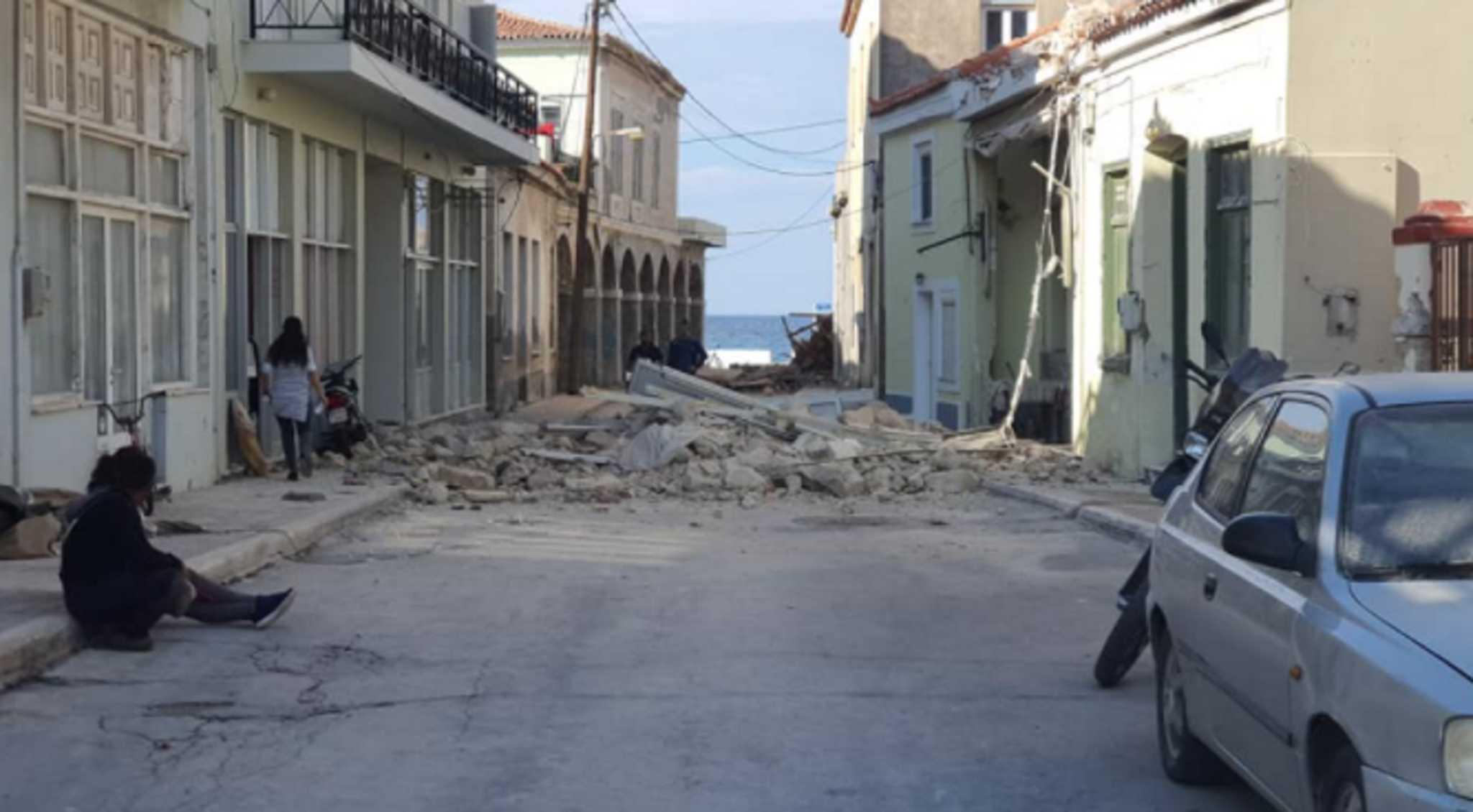 Πήρε ζωές ο σεισμός στην Σάμο – Θρήνος για τα δυο 17χρονα παιδιά που χάθηκαν στα συντρίμμια